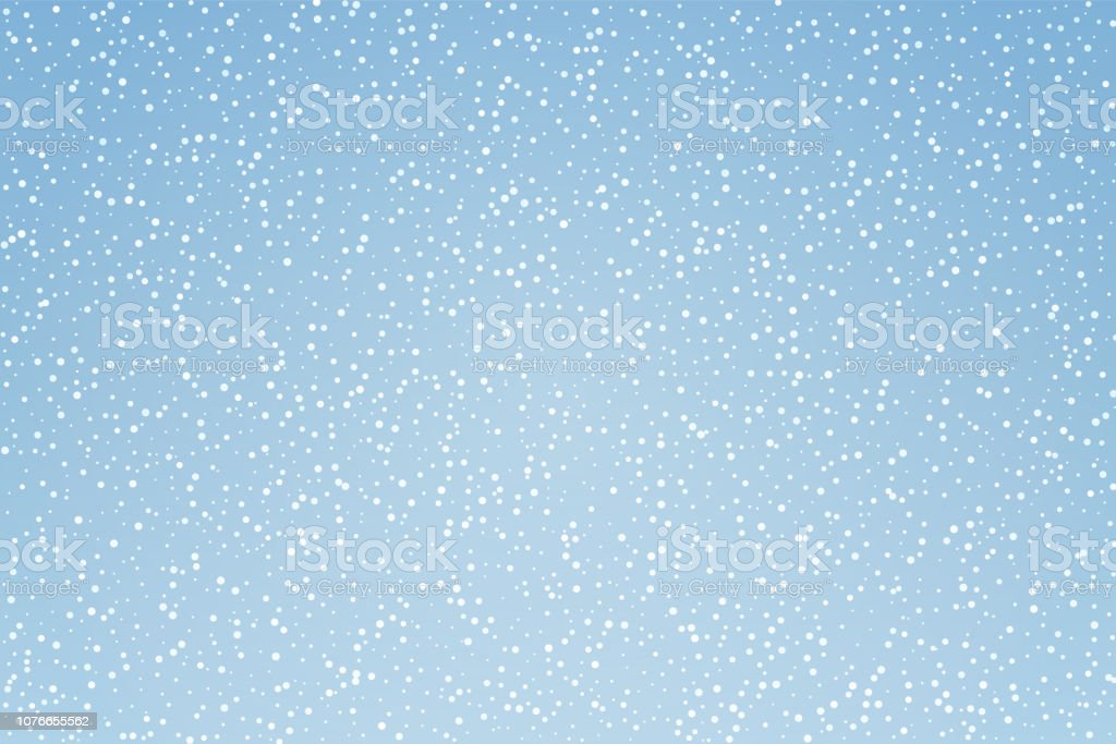 Sneeuw patroon achtergrond - Royalty-free Abstract vectorkunst