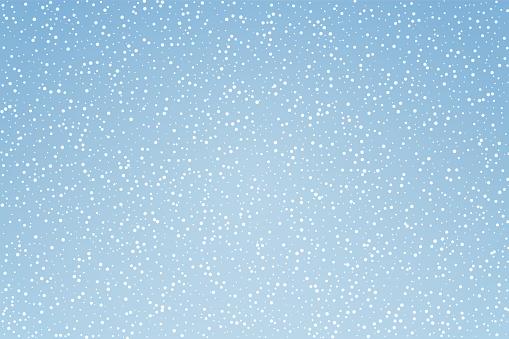 Snow pattern background