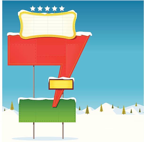 illustrazioni stock, clip art, cartoni animati e icone di tendenza di segnale di neve - christmas movie