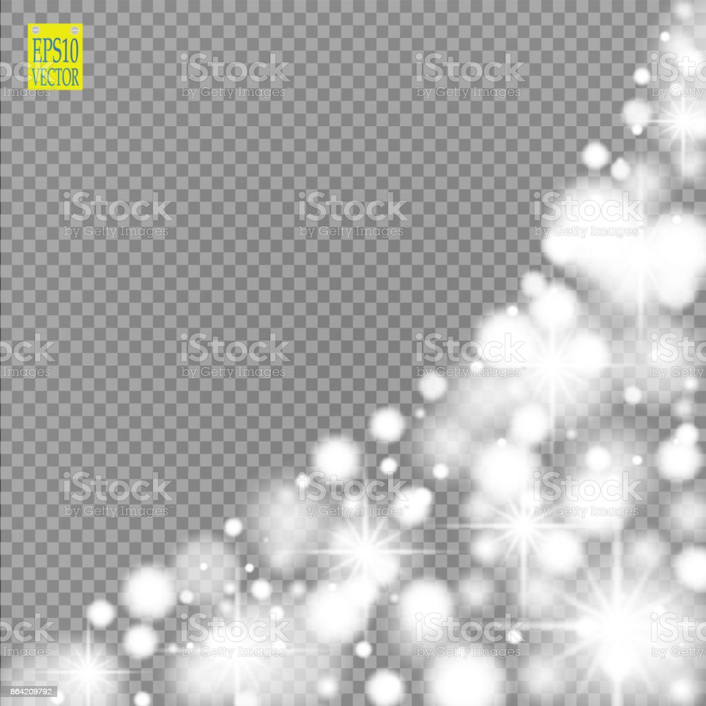 Snow, star, glitter line on a transparent background. Vector illustration . Abstract snowflake background. Festive shine ribbon. For Christmas, New Year, Birthday, holiday party invitation card royalty-free snow star glitter line on a transparent background vector illustration abstract snowflake background festive shine ribbon for christmas new year birthday holiday party invitation card stock vector art & more images of abstract