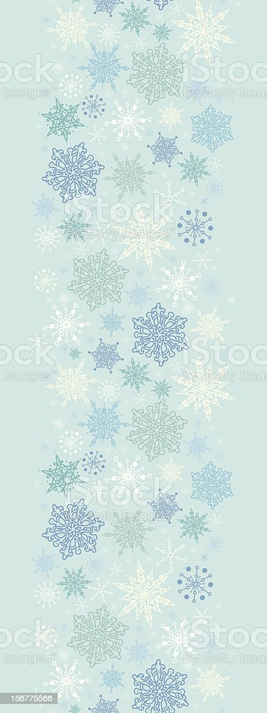 chinese new year christmas christmas decoration christmas ornament decoration snow storm vertical seamless pattern border