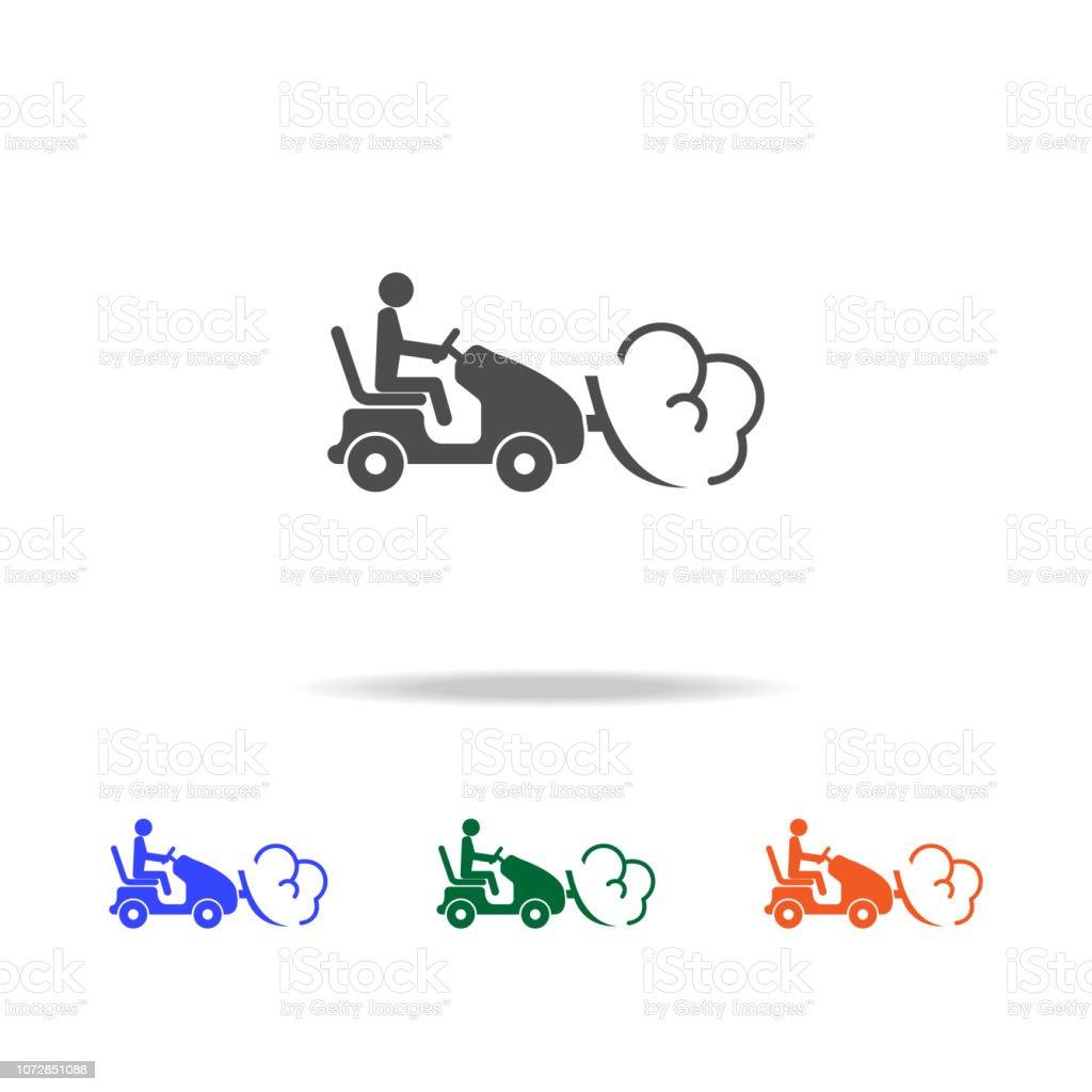 Tracteur Neige Avec Congere En Icone De La Charrue Elements Des