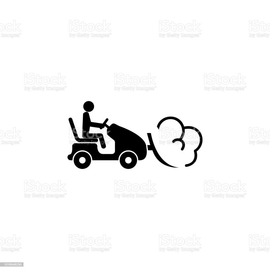 Tracteur Neige Avec Congere En Icone De La Charrue Icone Delements