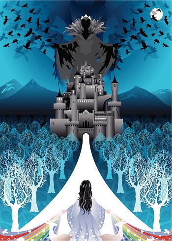 Snow White returns to evil queen castle