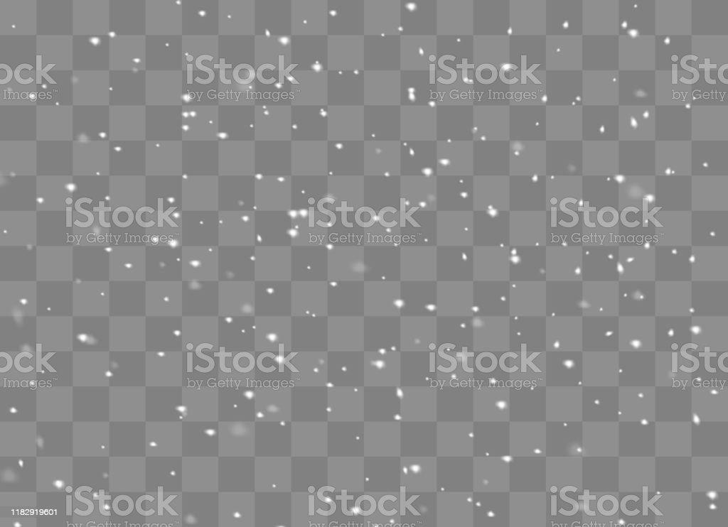 Sfondo vento di neve - arte vettoriale royalty-free di A forma di stella