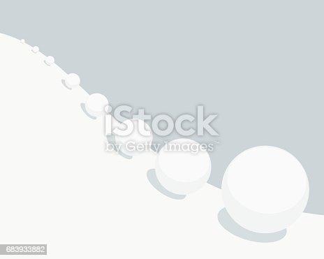 istock Snowball effect 683933882