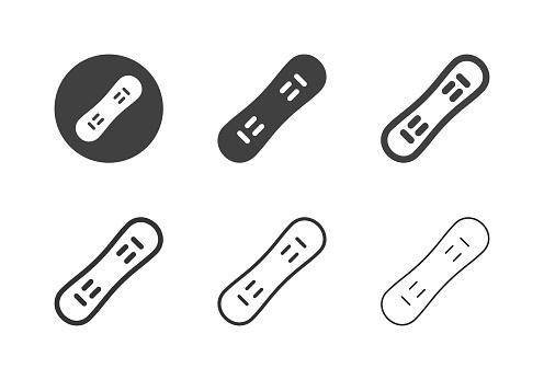 Snowboard Icons - Multi Series