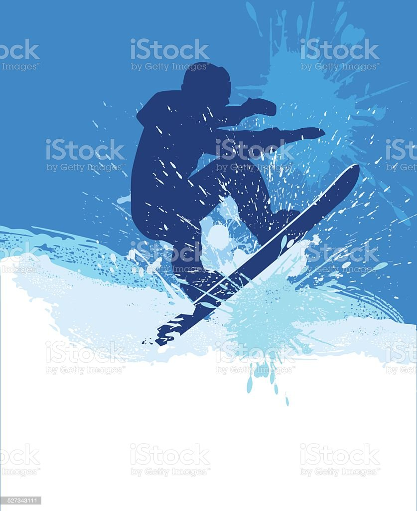 Snowboarding Stock Illustration Download Image Now Istock