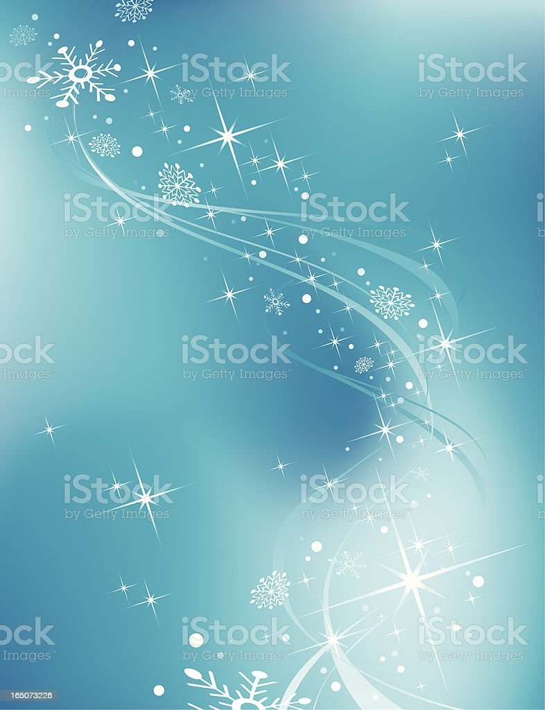 Snowfall graphic on blue background royalty-free snowfall graphic on blue background stock vector art & more images of blue