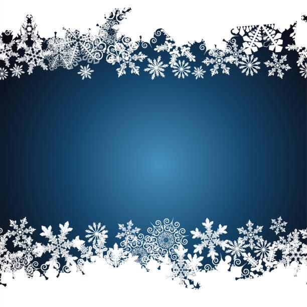 Fondo de copo de nieve - ilustración de arte vectorial
