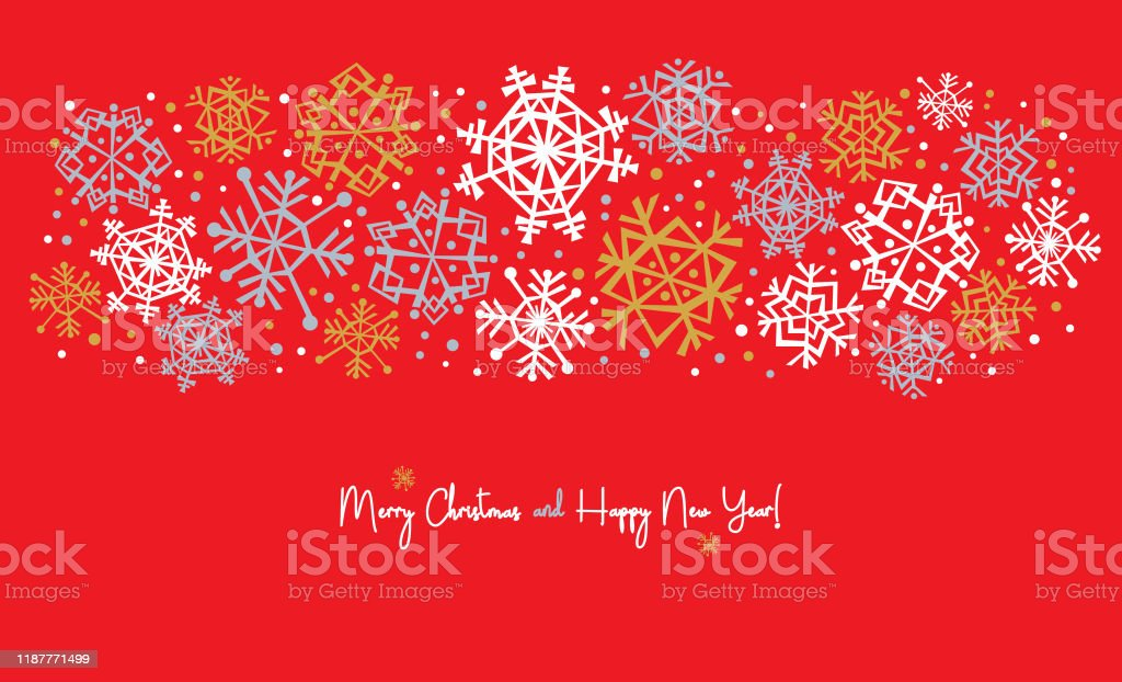 Snowflake Banner for Winter Holidays - Royalty-free Backgrounds stock vector