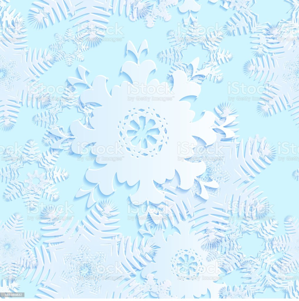 snowflake blue seamless royalty-free snowflake blue seamless stock vector art & more images of abstract