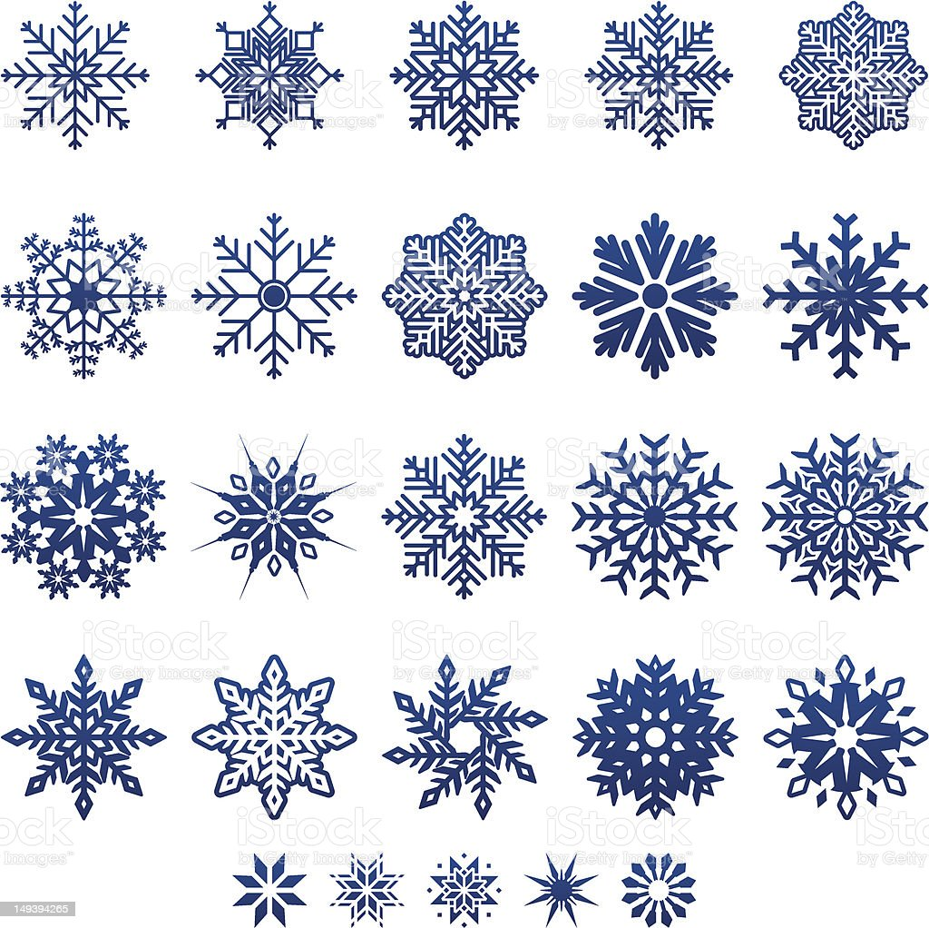 Snowflake design in blue on a white background royalty-free snowflake design in blue on a white background stock vector art & more images of christmas