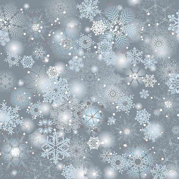 Snowflake grey background design – Vektorgrafik