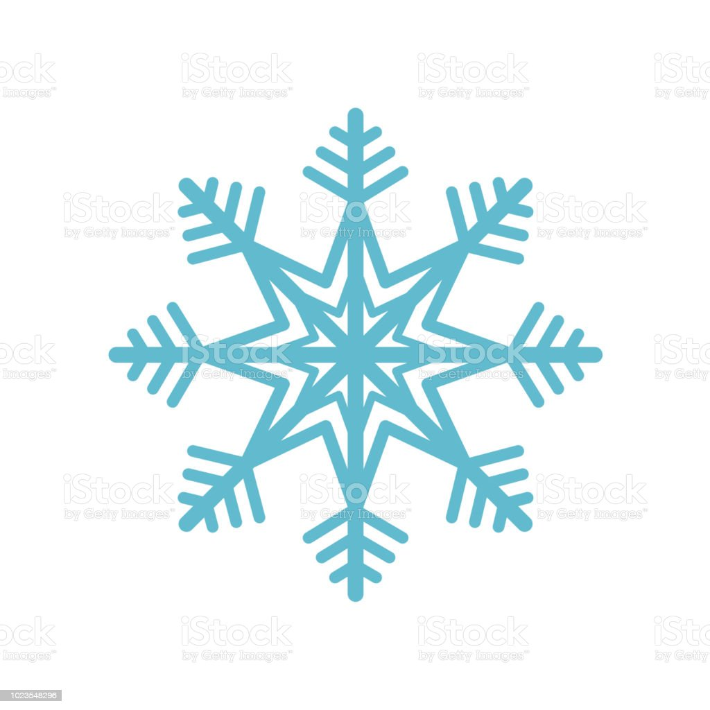 雪の結晶アイコン ベクトル記号と白い背景、スノーフレーク ロゴのコンセプトに分離記号 ロイヤリティフリー雪の結晶アイコン ベクトル記号と白い背景スノーフレーク ロゴのコンセプトに分離記号 - お祝いのベクターアート素材や画像を多数ご用意