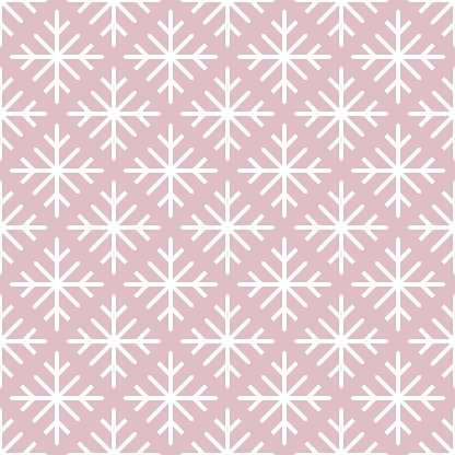 Snowflake Seamless Background
