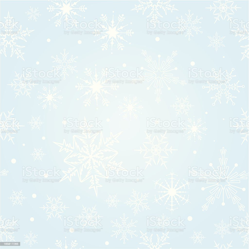 Snowflake Seamless Pattern royalty-free snowflake seamless pattern stock vector art & more images of abstract