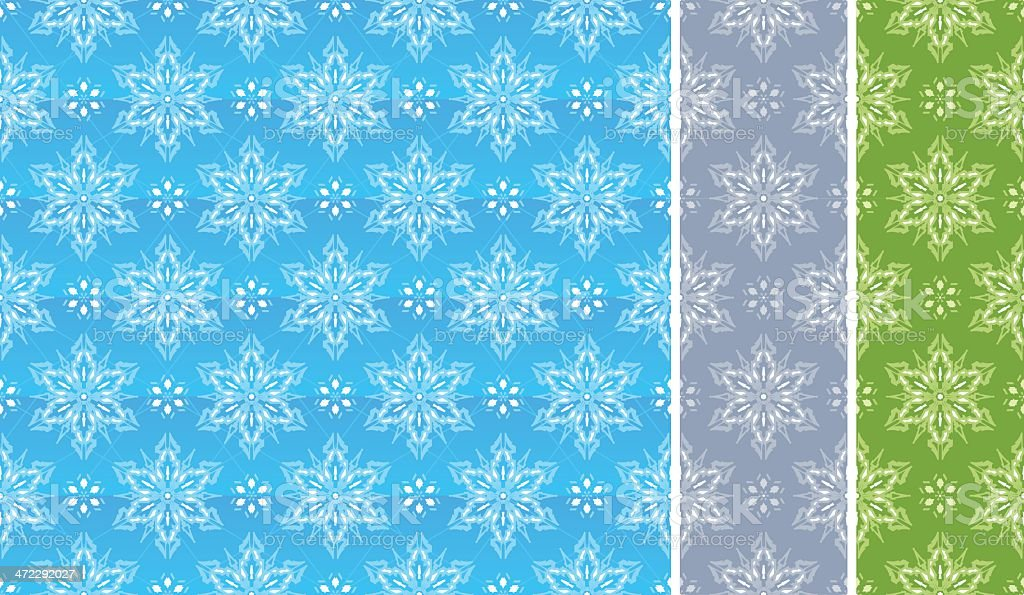 Snowflake seamless pattern royalty-free snowflake seamless pattern stock vector art & more images of backgrounds