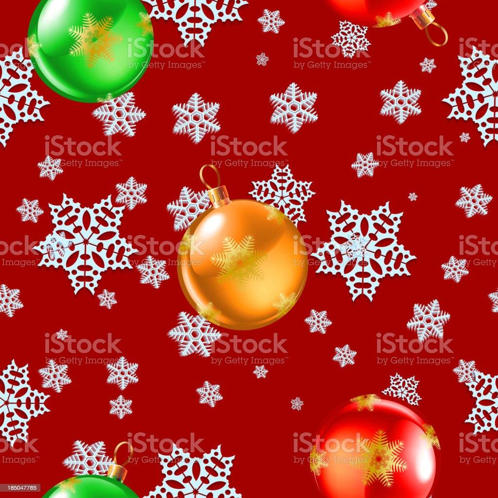snowflake seamless royalty-free stock vector art