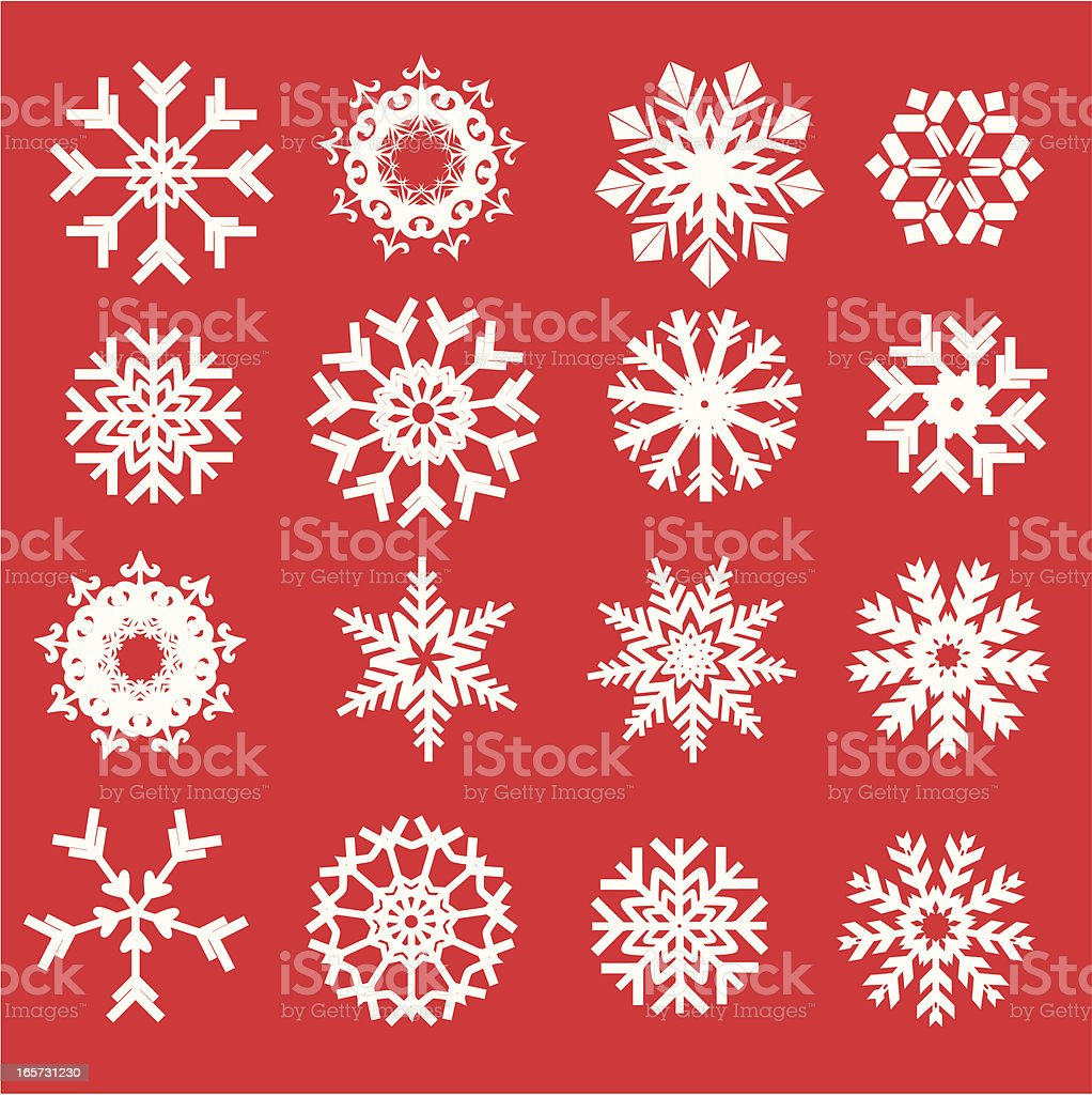 Snowflake royalty-free snowflake stock vector art & more images of abstract