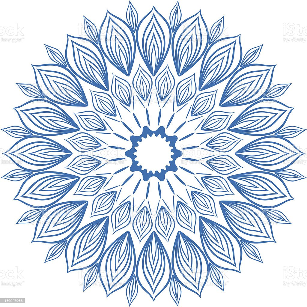 Snowflake. royalty-free snowflake stock vector art & more images of abstract
