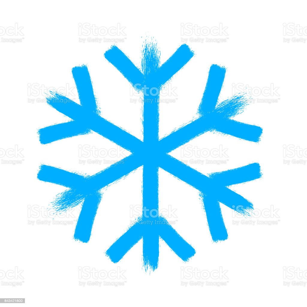 snowflake vector symbol christmas snow icon stock vector art rh istockphoto com snowflake background vector art free Snowflake Clip Art SVG