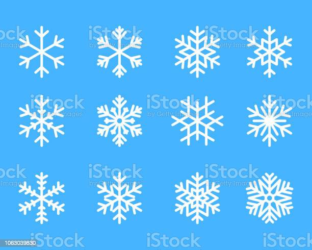Snowflake winter set of blue isolated icon silhouette on white vector id1063039830?b=1&k=6&m=1063039830&s=612x612&h=jwdlg7vu 6pm3b8guqy3zrqhkkyvorwsik hx4 jfc8=
