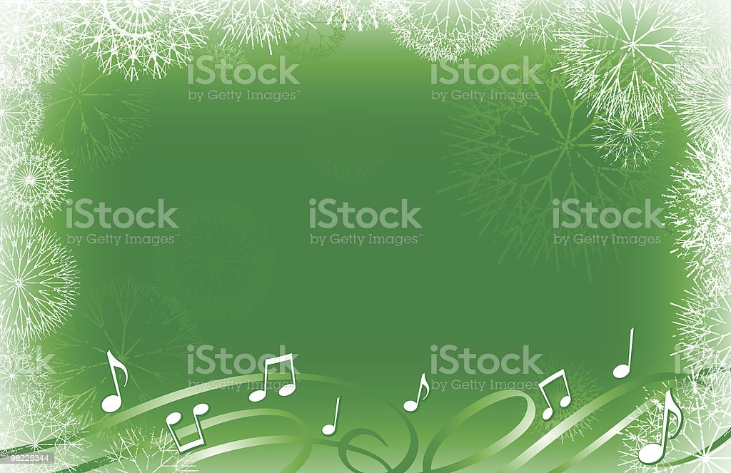 Snowflakes and Carols royalty-free snowflakes and carols stock vector art & more images of backgrounds