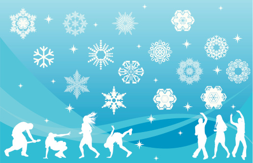 Snowflakes and Party People