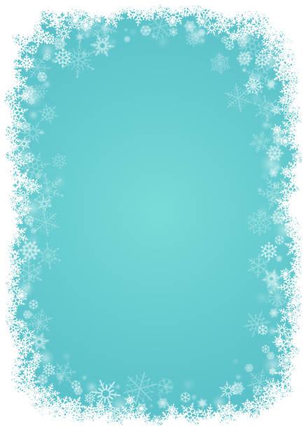 ilustrações de stock, clip art, desenhos animados e ícones de snowflakes background - background christmas snow