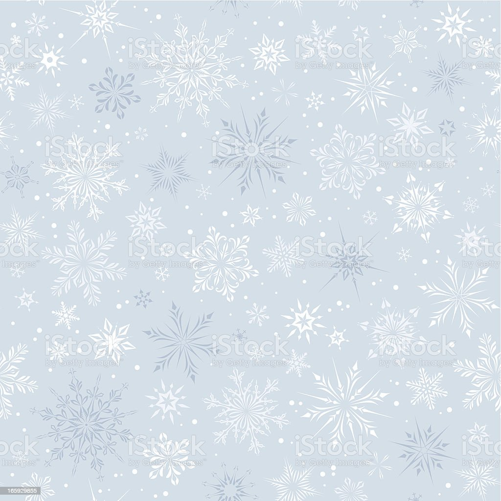 Бесшовный фон доска в снегу
