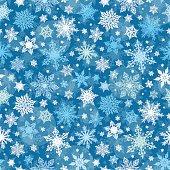 Vector illustration of Christmas Winter Texture