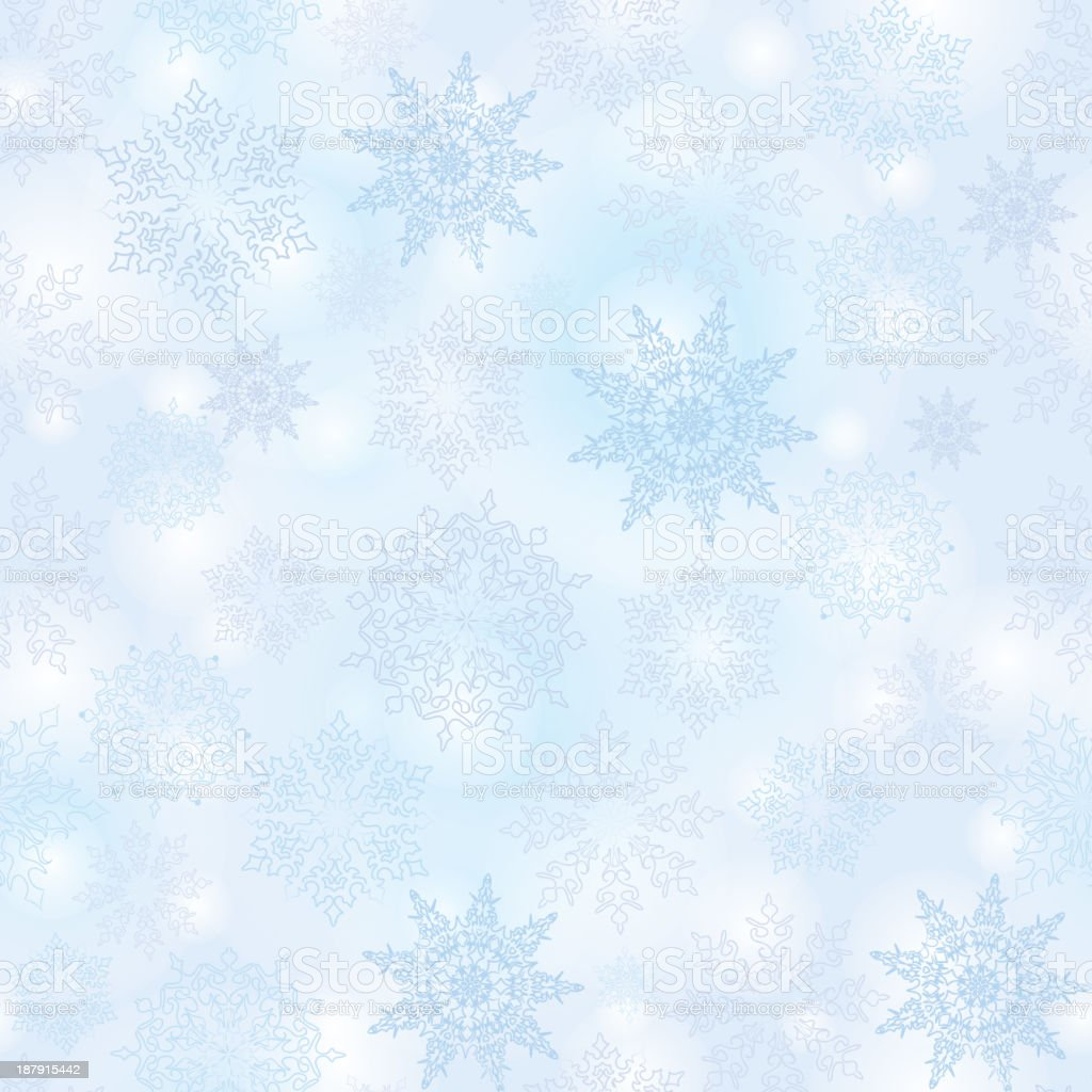 Snowflakes seamless texture. royalty-free snowflakes seamless texture stock vector art & more images of abstract