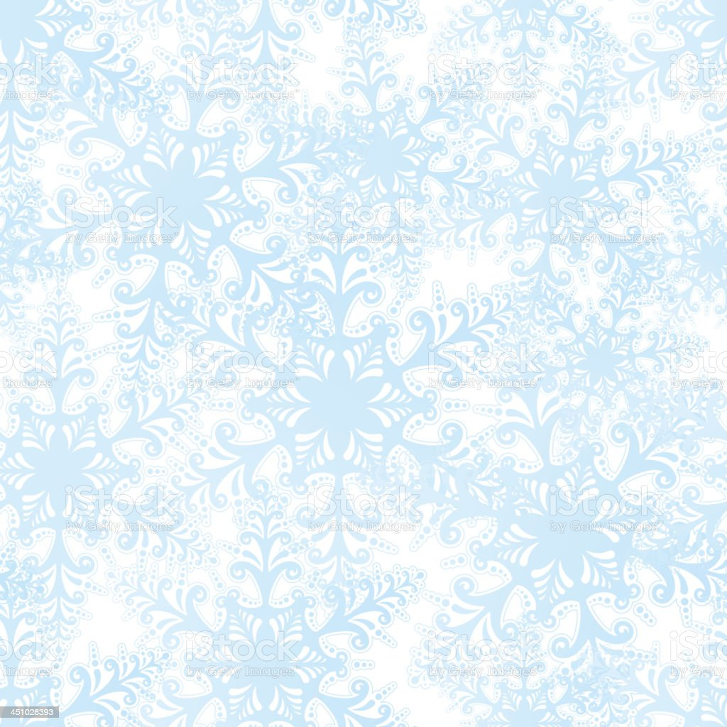 Snowflakes seamless texture. royalty-free stock vector art