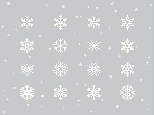 雪の結晶 - 雪点のイラスト素材/クリップアート素材/マンガ素材/アイコン素材