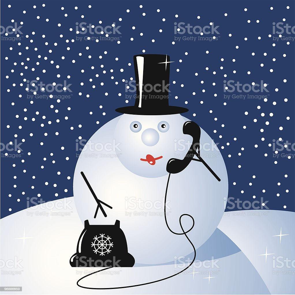 snowman - businessman royalty-free snowman businessman stock vector art & more images of backgrounds
