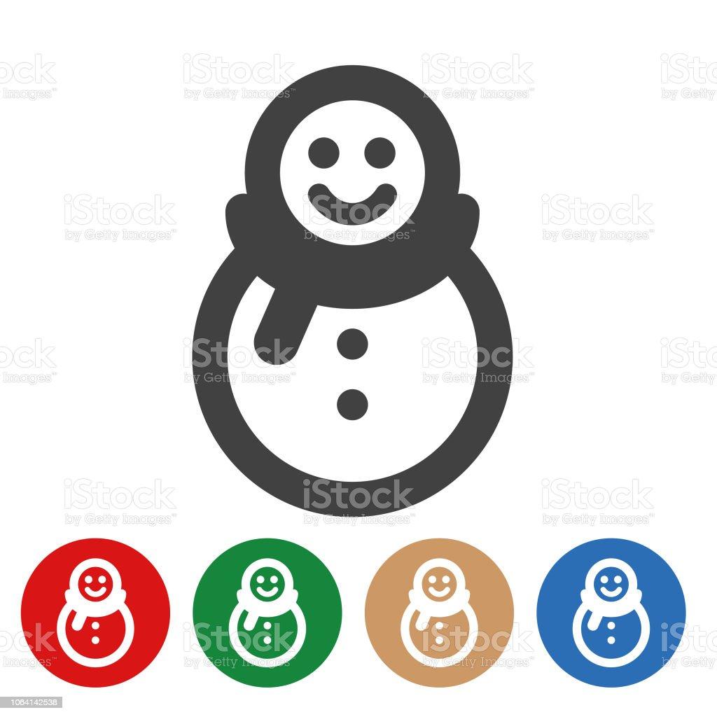 Bonhomme Graphique bonhomme de neige série graphique illustration – cliparts vectoriels