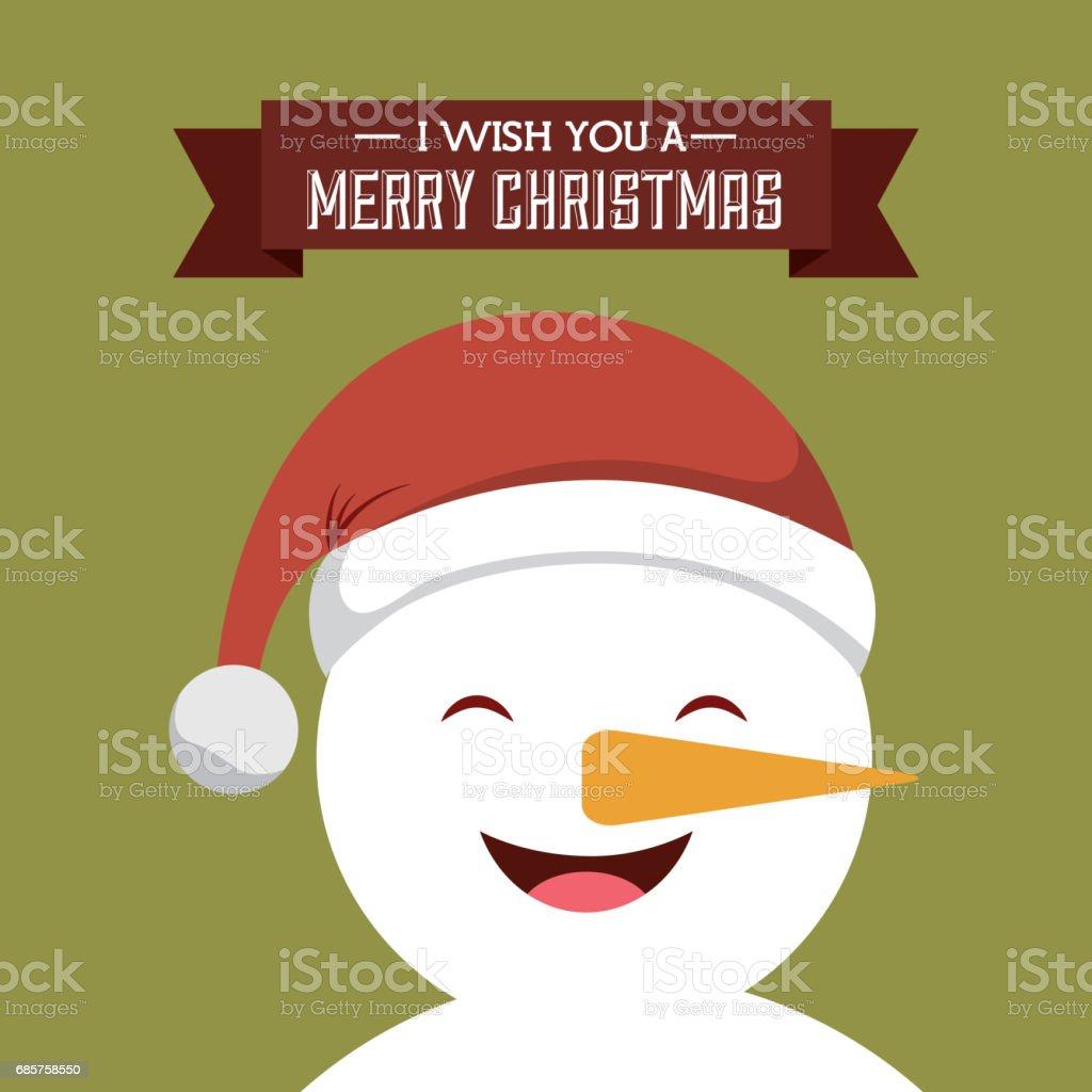 snowman icon. Merry Christmas design. Vector graphic royaltyfri snowman icon merry christmas design vector graphic-vektorgrafik och fler bilder på colombia