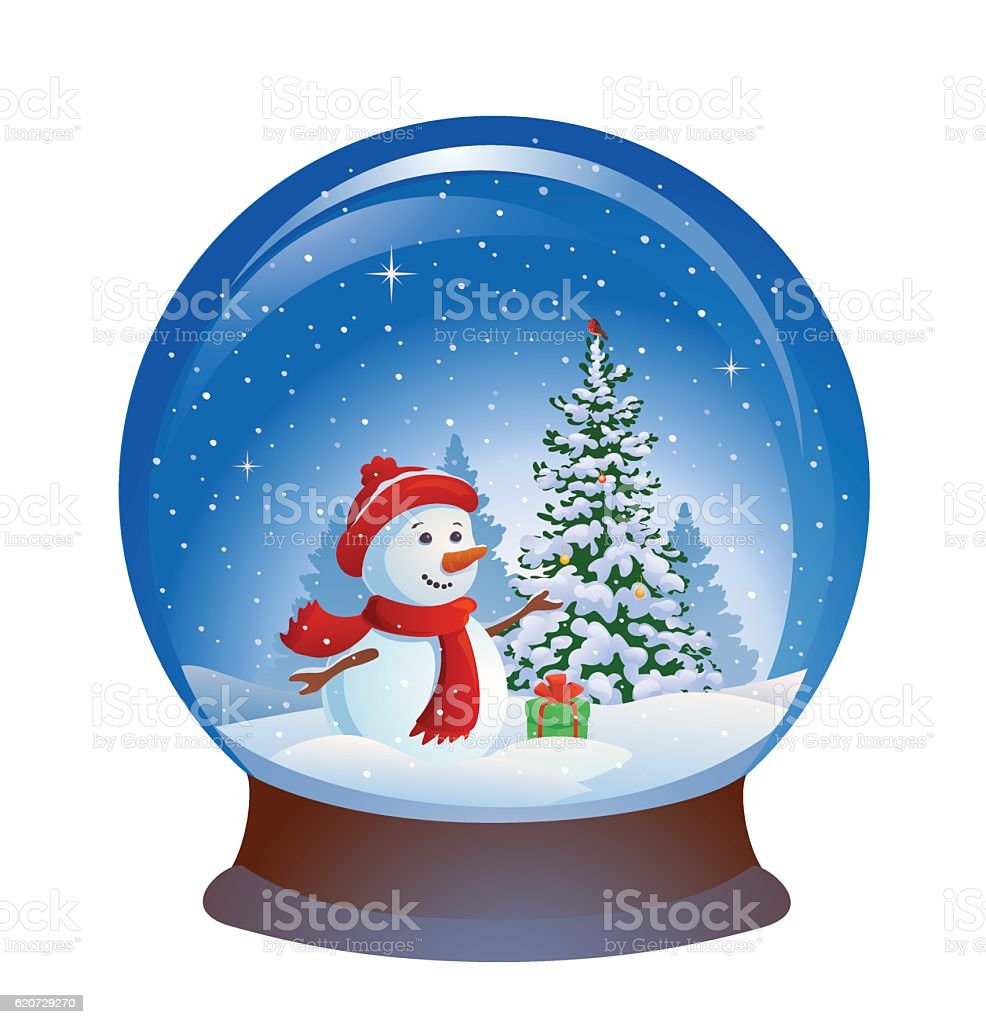 royalty free vector snow globe clip art vector images rh istockphoto com animated snow globe clipart animated snow globe clipart