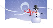 A happy snowman for the winter season :-)