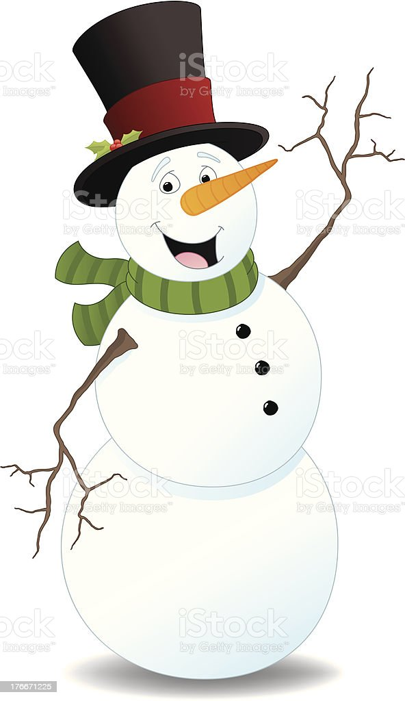 Snowman royalty-free snowman stock vector art & more images of christmas