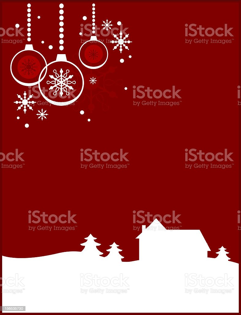 Snowy christmas landscape royalty-free snowy christmas landscape stock vector art & more images of advent
