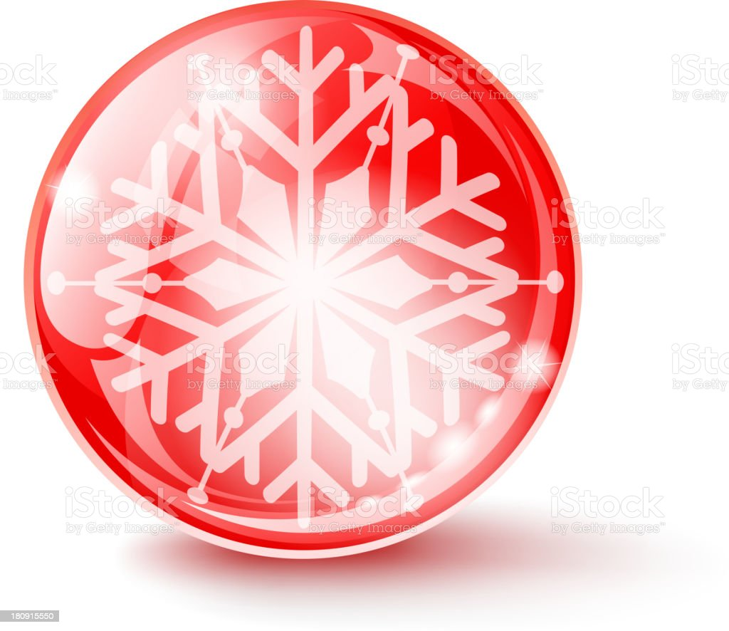 snowy glossy sphere royalty-free snowy glossy sphere stock vector art & more images of abstract