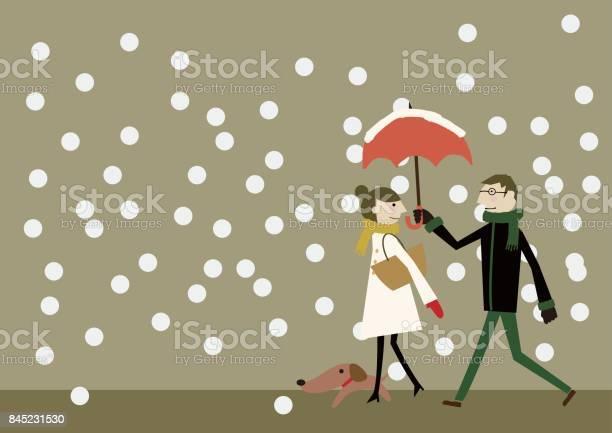 Snowy landscape image with lovers and dog vector id845231530?b=1&k=6&m=845231530&s=612x612&h=iyreo7chyihleaw18ksuz7myndofd12m9ryd8dlt1ga=