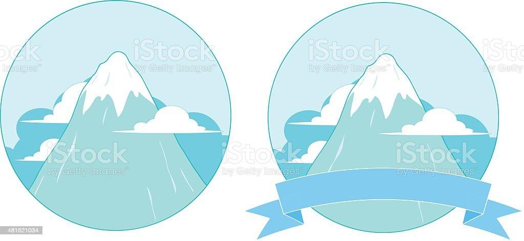 Logo Montagne Enneigee Cliparts Vectoriels Et Plus D Images De