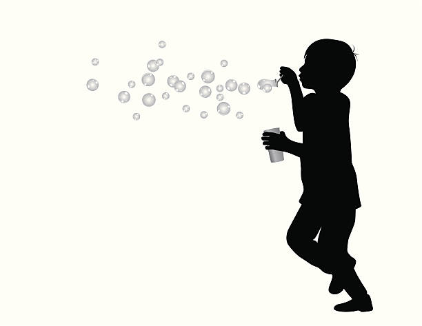 Royalty Free Blowing Bubbles Clip Art, Vector Images ...