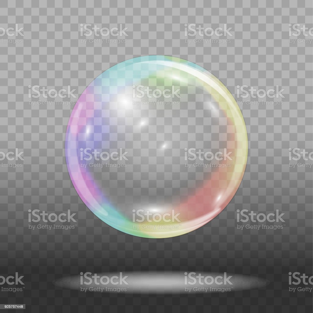 De burbujas de jabón - ilustración de arte vectorial