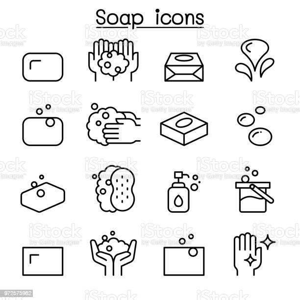 Soap icon set in thin line style vector id972575982?b=1&k=6&m=972575982&s=612x612&h=eoiffvsnnqqdnody6ifxqssjbl21ipurcrlfpmvj9dq=