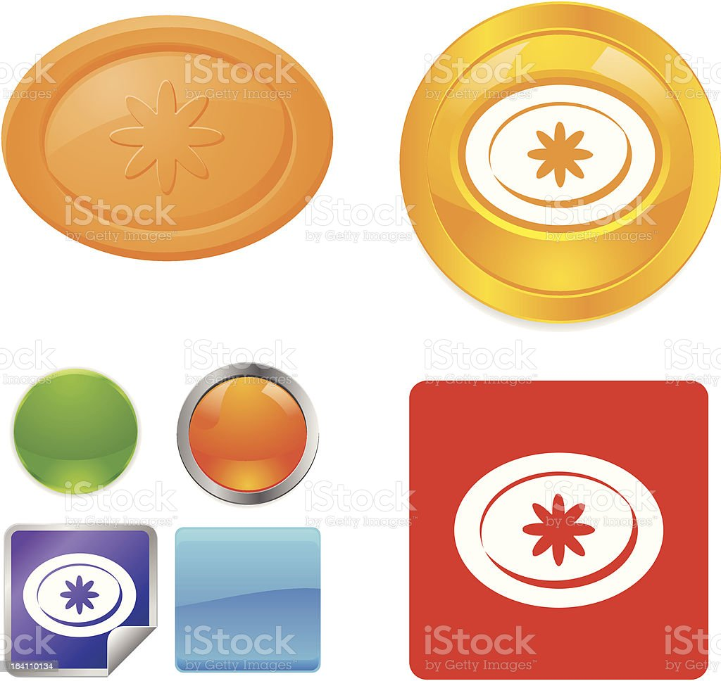Soap vector icons royalty-free stock vector art