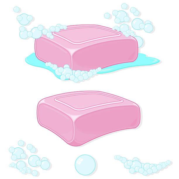 Soap vector art illustration